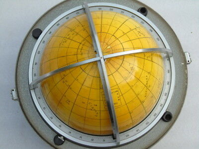 Vintage Russian Cccp Ship Celestial Navigation Astronomy Sky Star English Globe