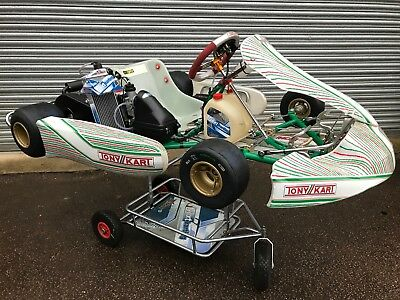 Tonykart Fa 2018 401S Chassis With New Rotax Evo Max Engine - Nextkarting -