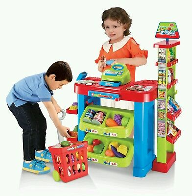Unisex Supermarket Play Set Playset Learn Fun Learning Grown Up Practice