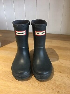 hunter wellies Infant size 6