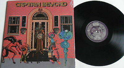 LP CAPTAIN BEYOND Sufficiently Breathless - Re-release - Timeless rec. Sealed