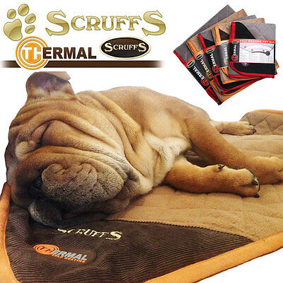 Thermal Self Warming Dog Blanket, thermokissen for Dogs Cats Scruffs XS - XL