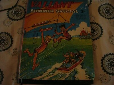 Valiant Summer Special Comic 1970 V.good Condition