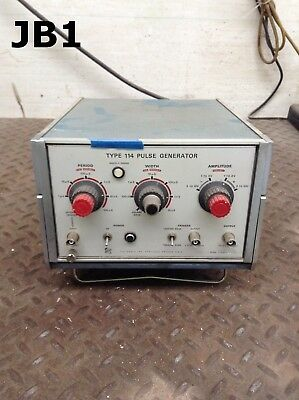 Tektronics Type 114 Pulse Generator
