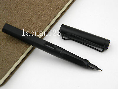 office gift Matte black EF nib Fashion classic style new fountain pen
