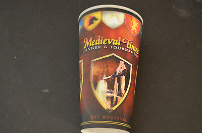 Medieval Times California plastic 3d effect plastic drink cup