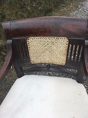 Georgian chair with new Bergere cane work
