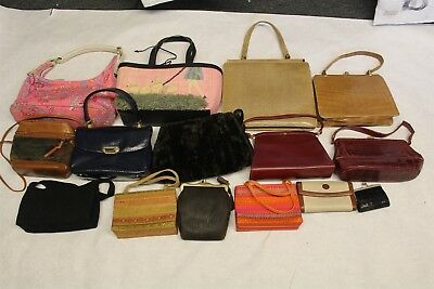 Vintage Wholesale Purse Lot USED Bulk Rehab Resale Dooney Stuart Weitzman dJzP