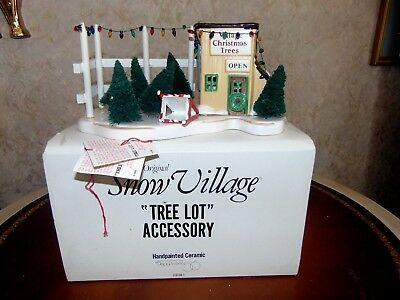 Dept 56 Snow Village - Tree Lot Accessory-In Box-5138-1