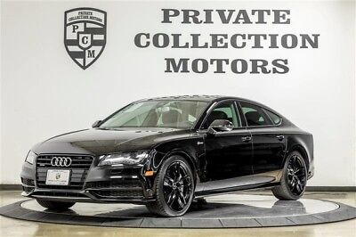 2015 Audi A7 Prestige Hatchback 4-Door 2015 Audi A7 Factory Warranty Low Miles 1 Owner Clean Carfax