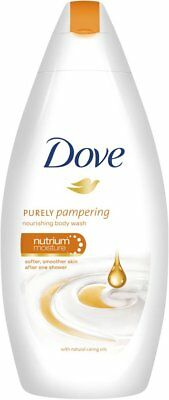 Dove Purely Pampering Nourishing Body Wash with Natural Caring Oils - 400 ml