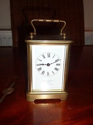 French 8 Day Carriage Clock c.1900