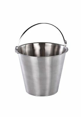 Sunnex Stainless Steel Bucket 12 Litres / 420oz   food dairy cream milk