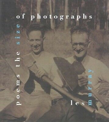 Poems the Size of Photographs by Murray, Les Paperback Book The Cheap Fast Free