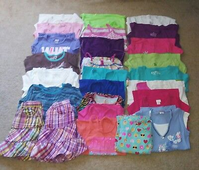 Lot of 26 Pieces -Girl's Clothing Spring/Summer-Size 10-12