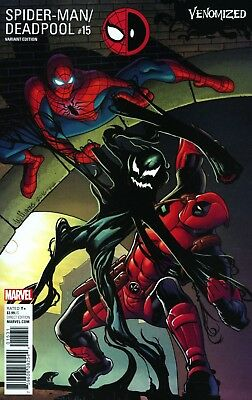 Spider-Man Deadpool #15 Williams Venomized Variant Marvel Comics 3/8/17