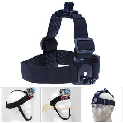 360° Rotation Head Band Strap Belt Dual Mount Holder for Gopro Hero 4 3 SJCAM