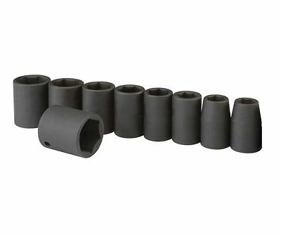 "9pc 1/2"" Drive SAE Standard Air Impact Socket Set 7/16"" - 1"" NEW"
