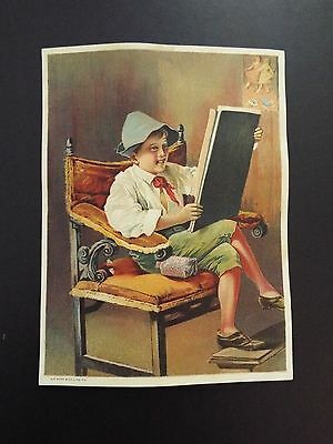 Juvenile Celebrated Toilet Soap Victorian Trade Card