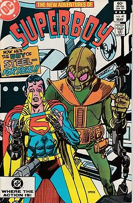 """The New Adventures Of Superboy #41 - """"teen Of Steel For Real"""" - May 1983"""
