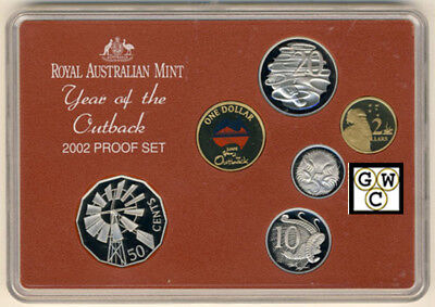 Australia 2002 Year of the Outback Six Coin Proof Set (OOAK)