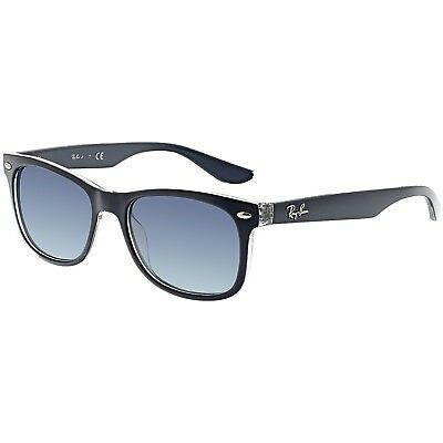 Ray-Ban Gradient Wayfarer RJ9052S-70234L-48 Black Rectangle Sunglasses