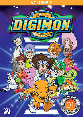 #5 DIGIMON TAMERS First Season Volume 2 Brand New DVD Set FREE SHIPPING