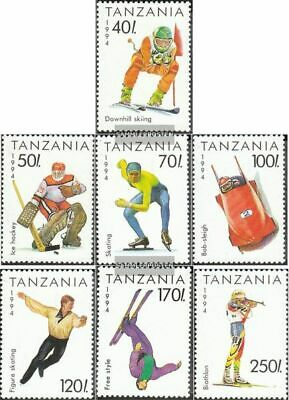 Tanzania 1705-1711 (complete.issue.) unmounted mint / never hinged 1994 Olympics
