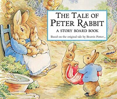 Tale of Peter Rabbit Story Board Book (The World ... by Potter, Beatrix Hardback