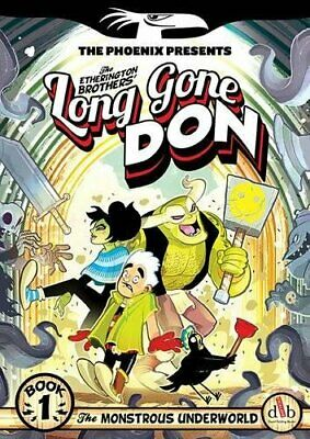 Long Gone Don: The Monstrous Underworld: Book 1 (The Ph... by Etherington, Robin