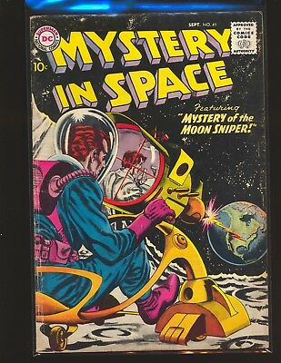 Mystery In Space # 46 VG Cond.