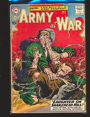 Our Army At War # 84 - 2nd Sgt. Rock Good Cond.