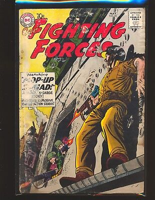 Our Fighting Forces # 45 - 1st Gunner & Sarge Poor Cond.