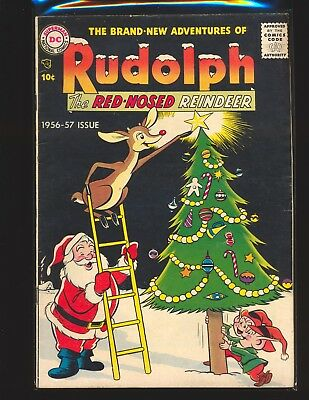 Rudolph The Red-Nosed Reindeer 1956 - Grossman art G/VG Cond slight water damage
