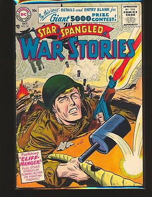 Star Spangled War Stories # 50 VG Cond. subscription crease