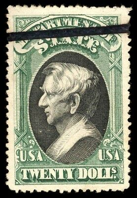 US, O71, USED $20 Seward Official Stamp