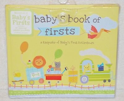 Baby's Book Of Firsts Keepsake Of Baby's First Milestones Baby Book Memory