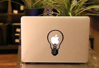 "Bulb Vinyl Decal Sticker Skin for Laptop MacBook Air/Pro 11'' 12"" 13'' 15'' 17''"
