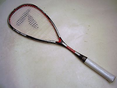 New!!! Factory 2Nd Teloon Graphite Squash Racquet & Full Cover