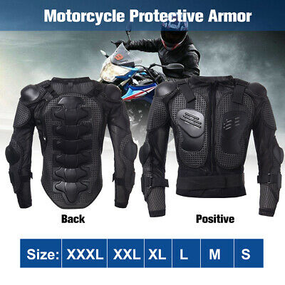 Motocross Motorbike Body Armour Motorcycle Racing Protection Guard Jacket Coat
