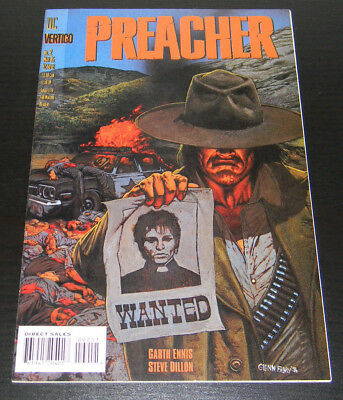 PREACHER #2 (1995) DC/Vertigo Comics 1st Full App. Saint of Killers VF