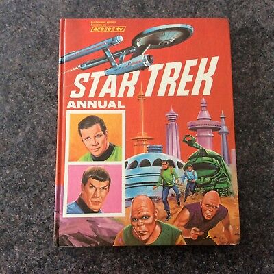 Vintage 60s Annual ~ Star Trek Annual 1968 1969 ~ Unclipped ~ Good condition