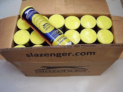 Tennis Balls(72 Slazenger Championship Hardcourt Hydroguard balls in cans of 4)