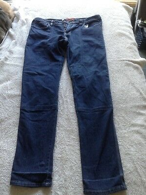 Sartso Ladies Kevlar Motor Bike Motor Cycle Jeans Size 14 Euc