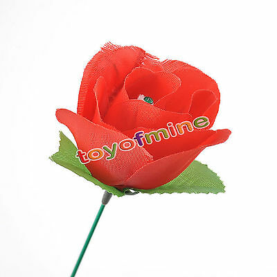 Popular Street Show Magic Trick Accessories Torch To Rose Fire Appearing Flower