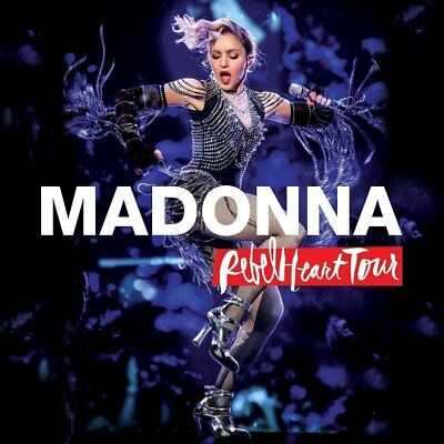 MADONNA 'REBEL HEART TOUR' DVD + CD Set (2017)
