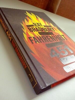 Fahrenheit 451 Ray Bradbury New Hardback/clothbound Collectors edition 2013