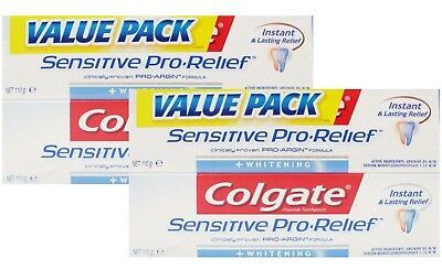 12 x Colgate 110g TOOTHPASTE SENSITIVE PRO RELIEF - NEW