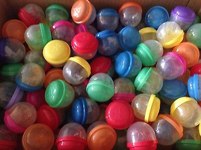 """2 inch Vending Machine Capsules STICKY TOY MIX 100 pieces Birthday Grab Bags 2"""""""