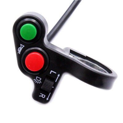 "7/8"" ATV Bike Motorcycle Scooter Offroad Horn Turn Signals On/Off Light Switch"
